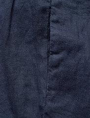 Morris Lady - Elsa Linen Trousers - vida byxor - blue - 2