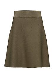 Cosette Knit Skirt - OLIVE