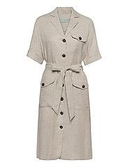 Blanca Safari Dress - KHAKI
