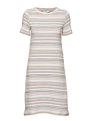 Giana Jersey Dress - OFF WHITE