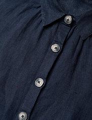 Morris Lady - Hanna Linen Dress - vardagsklänningar - blue - 3