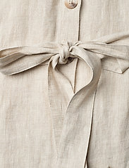 Morris Lady - Hanna Linen Dress - vardagsklänningar - khaki - 4
