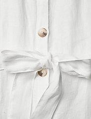 Morris Lady - Hanna Linen Dress - sommarklänningar - off white - 3