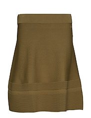 Gavriella Knit Skirt - OLIVE