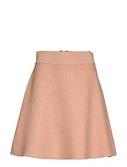 Pauline Knit Skirt - CAMEL
