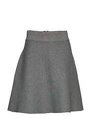 Pauline Knit Skirt - GREY