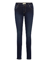 Monroe Satin Jeans - BLUE
