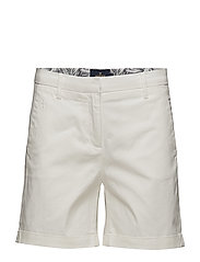 Adelie Chino Shorts - OFF WHITE