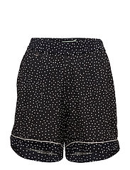 Amélie Printed Shorts - BLACK