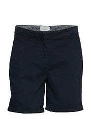 Adelie Chino Shorts - BLUE
