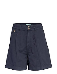 Paulette Chino Shorts - BLUE
