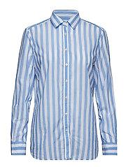 Neva Stripe Shirt - LIGHT BLUE