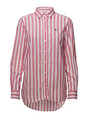Neva Stripe Shirt - RED