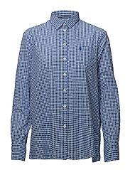 Gaby Check Shirt - BLUE