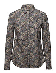 Lily Liberty Paisley Shirt - GREEN