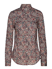Lily Liberty Rêveur Shirt - WINE RED