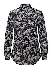 Kirsten Liberty Fleur Shirt - NAVY