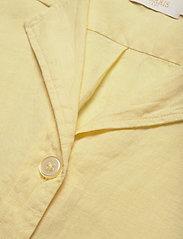 Morris Lady - Donna Linen Shirt - kortärmade skjortor - yellow - 2