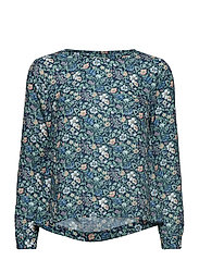 Flora Liberty Meadow Blouse - NAVY