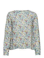 Flora Liberty Meadow Blouse - WHITE