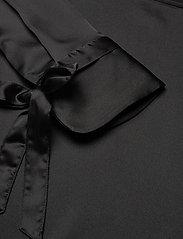 Morris Lady - Kari Blouse - långärmade blusar - black - 2