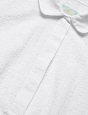 Morris Lady - Ivet Blouse - kortärmade blusar - white - 2