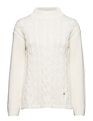 Elena Cable Knit - OFF WHITE