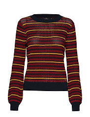Morris Lady Cori Knit - WINE RED