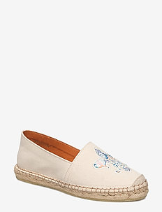 Lily Canvas Espadrille - OFF WHITE