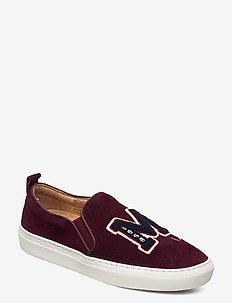 Lady Leala Sneaker - instappers - wine red