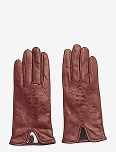 Lily Glove - hansker - wine red