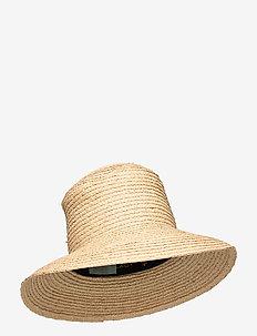 Eleta Straw Hat - hüte - khaki