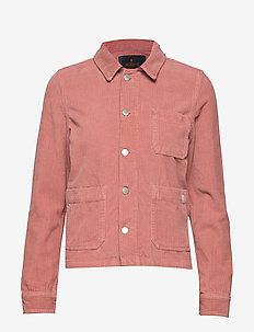 Alba Jacket - denim jackets - pink