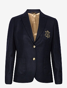 Delores Flannel Club Blazer - casual blazers - navy