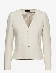 Basilie Jacket - skræddersyede blazere - off white