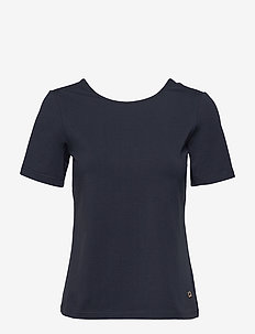 Laura Tee - t-shirty basic - blue