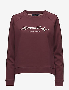 Jacalyn Sweatshirt - WINE RED