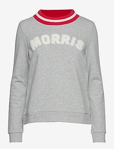 Corrine Sweatshirt - sweaters - grey