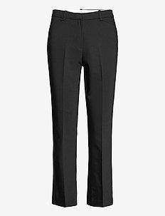 Anais Trousers - bukser med lige ben - black