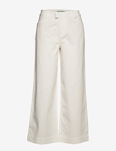 Francoise Trousers - vide bukser - off white