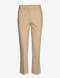 Anais Trousers - bukser med lige ben - camel
