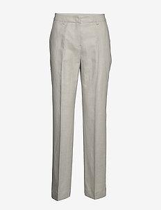 Kara Trousers - bukser med brede ben - khaki