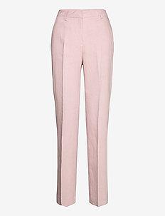 Kara Trousers - vide bukser - lt pink