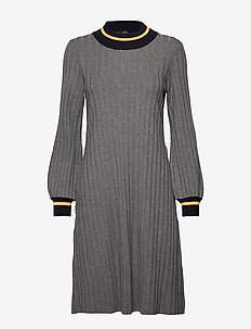 Jaqueline Knit Dress - GREY