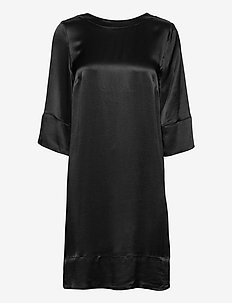 Aurore Dress - midiklänningar - black