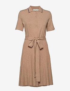 Cadence Knit Dress - midimekot - camel