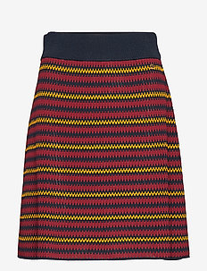 Colette Knit Skirt - WINE RED