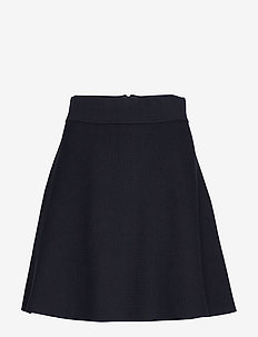 Pauline Knit Skirt - BLUE