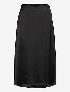 Isobel Skirt - midinederdele - black