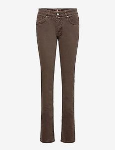 Heritage Raw Jeans - slim jeans - brown